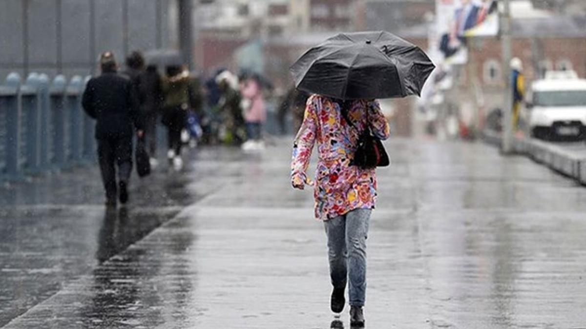 Meteoroloji'den son dakika İzmir, Manisa, Düzce ve ve Zonguldak için sağanak uyarısı