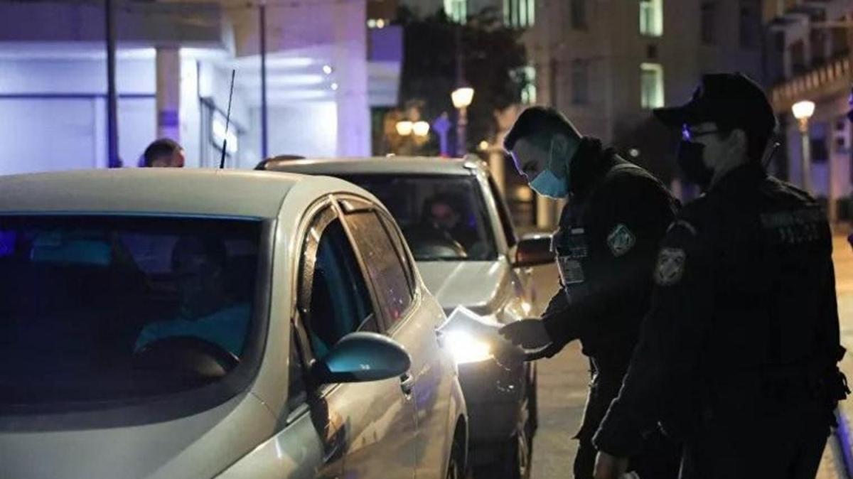 Yunanistan'da koronavirüs vakaları arttı... Sokağa çıkma yasağı başladı
