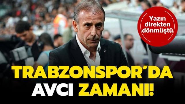 Trabzonspor'da karar verildi: Avcı geliyor