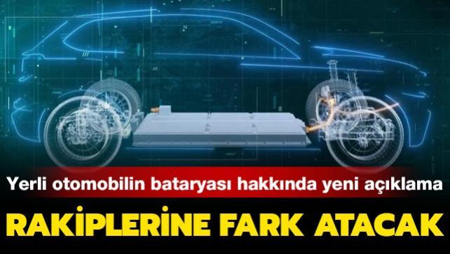 Türkiye'nin yerli otomobilinin bataryası hakkında yeni açıklama! Rakiplerine fark atacak