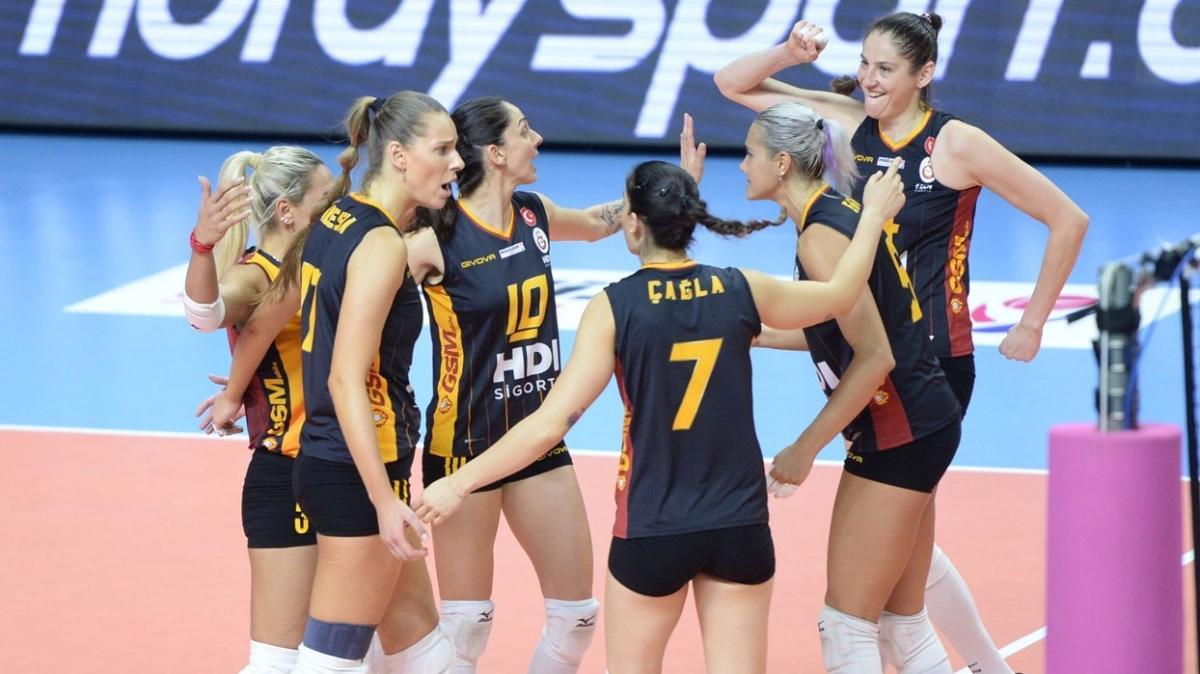Galatasaray HDI Sigorta, Nilüfer deplasmanında galip