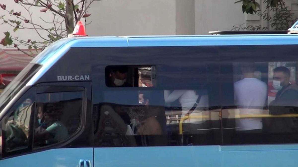 """İstanbul'da """"koronabüsler"""" virüs saçıyor: Minibüslerde virüse bile yer yok"""