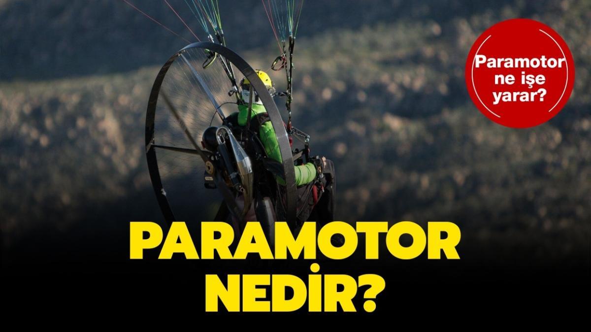 """Paramotor hangi alanlarda kullanılır"""" Paramotor nedir, ne demek"""""""