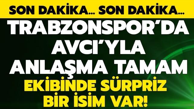 Ve Abdullah Avcı Trabzonspor'da! İşte yardımcıları...