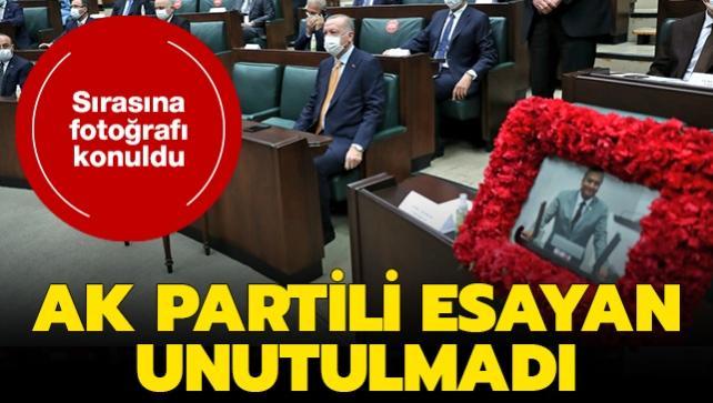 AK Partili Markar Esayan unutulmadı