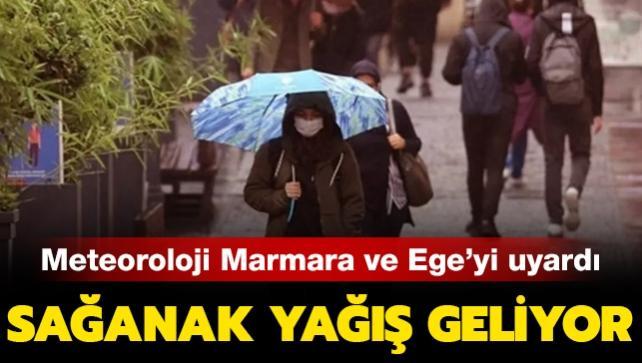 Bugün hava nasıl olacak? Meteorolojiden son dakika Ege ve Marmara için yağış uyarısı!
