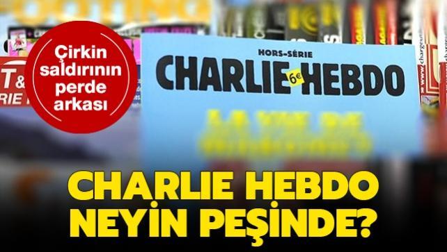 Charlie Hebdo neyin peşinde?