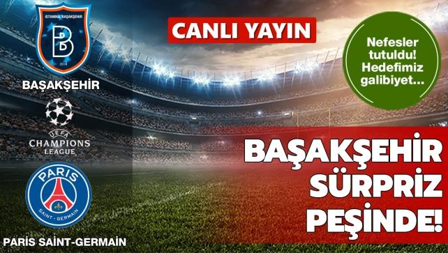 Başakşehir'in konuğu Paris Saint-Germain