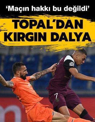 Mehmet Topal: 'Maçın hakkı bu değildi'