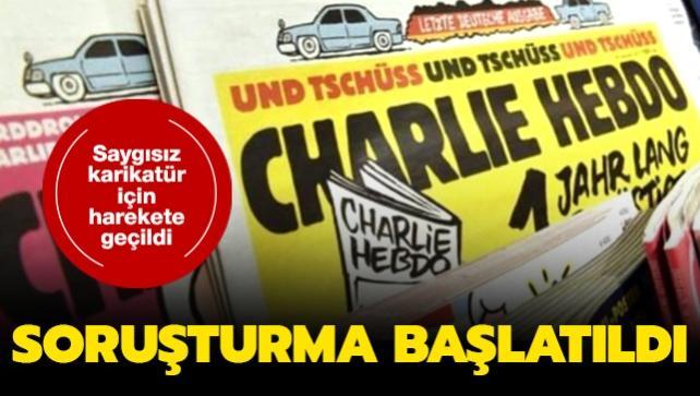 Savcılık Charlie Hebdo dergisi hakkında soruşturma başlattı