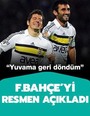 Selçuk Şahin Fenerbahçe'ye dönüşünü resmen açıkladı