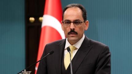Cumhurbaşkanlığı Sözcüsü Kalın'dan Hebdo'ya kınama