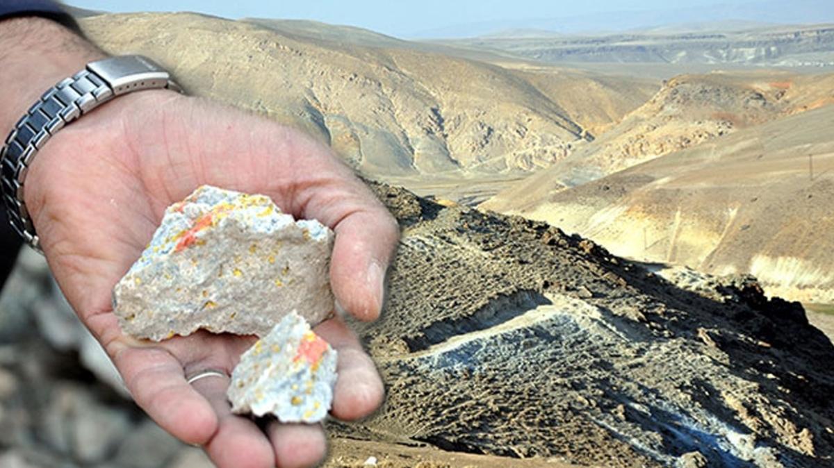 Ağrı'da heyecanlandıran keşif: Altın rezervi bulundu