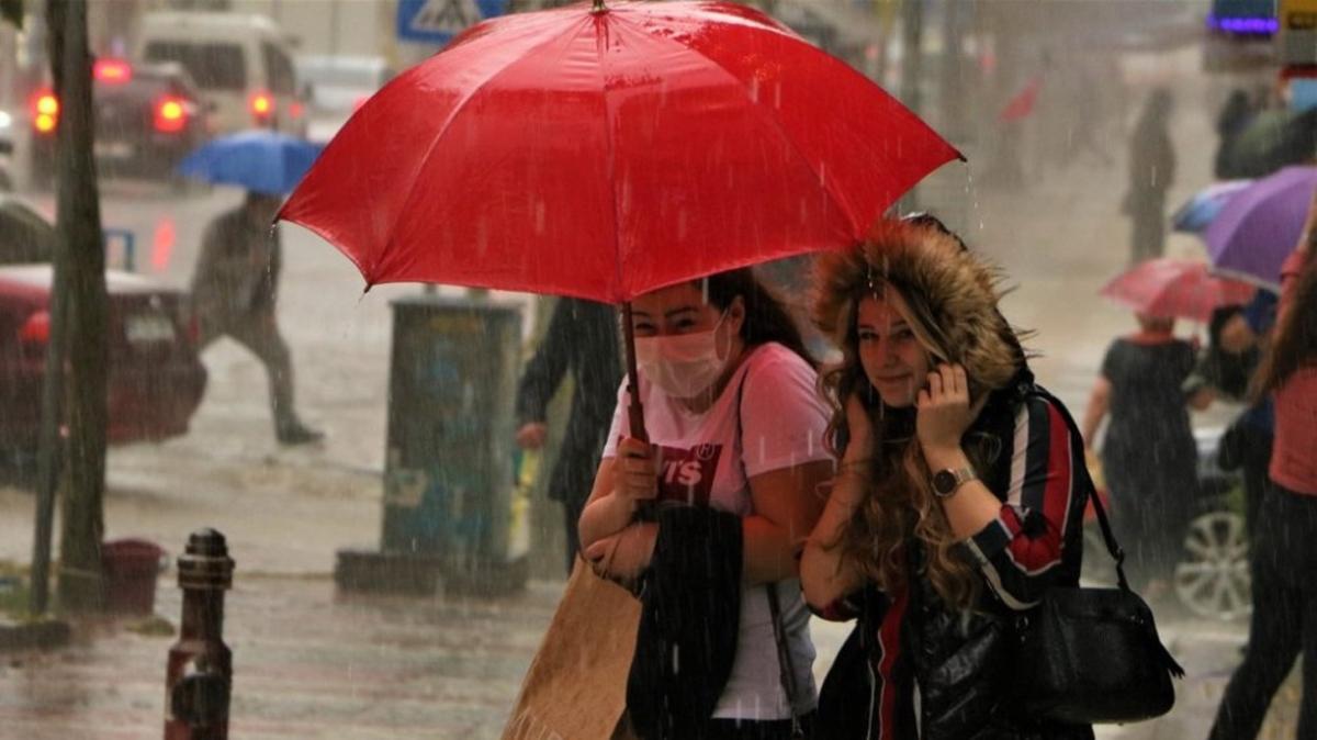 """Bugün hava nasıl olacak"""" Meteorolojiden son dakika Ege ve Marmara için yağış uyarısı!"""