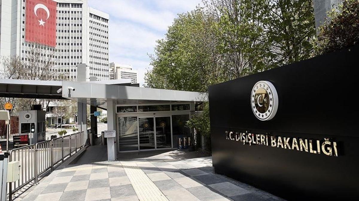 Fransa'nın Ankara Büyükelçiliği Maslahatgüzarı Dışişleri Bakanlığına çağırıldı