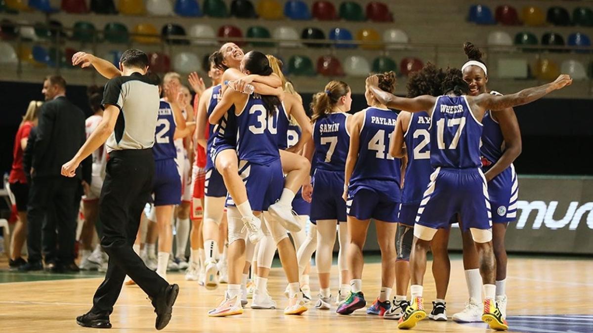 İzmit Belediyespor tarihinde ilk kez EuroLeague'de