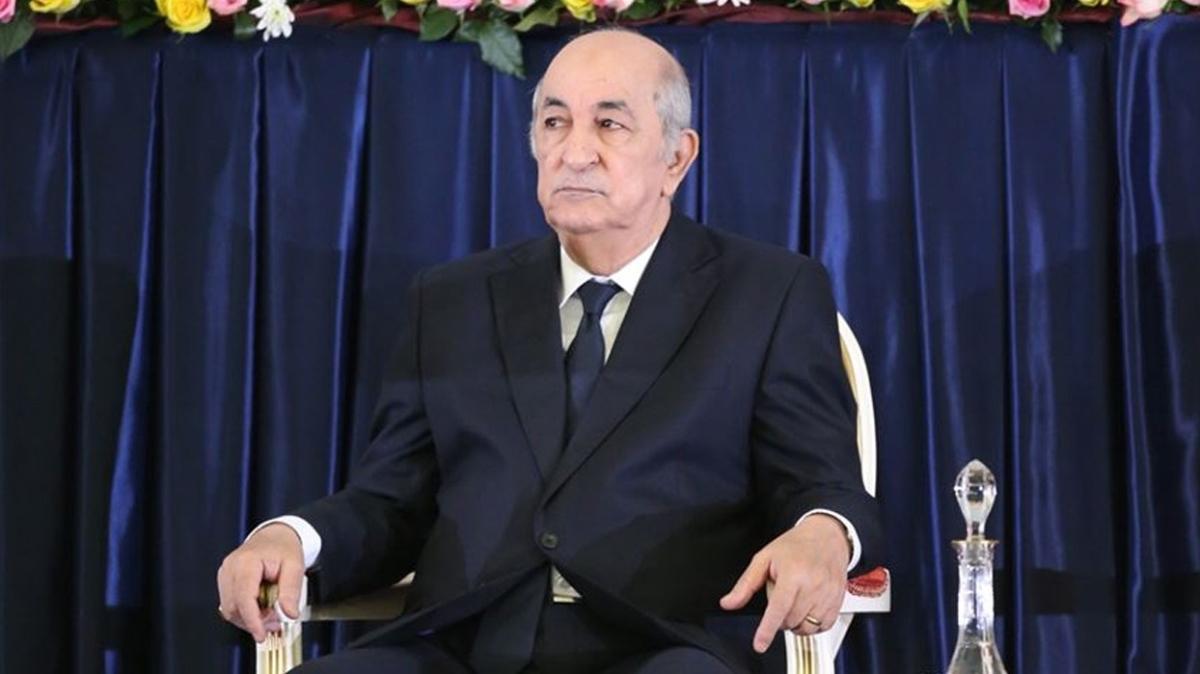 Koronavirüs tedavisi gören Cezayir Cumhurbaşkanı Tebbun, Almanya'ya nakledildi