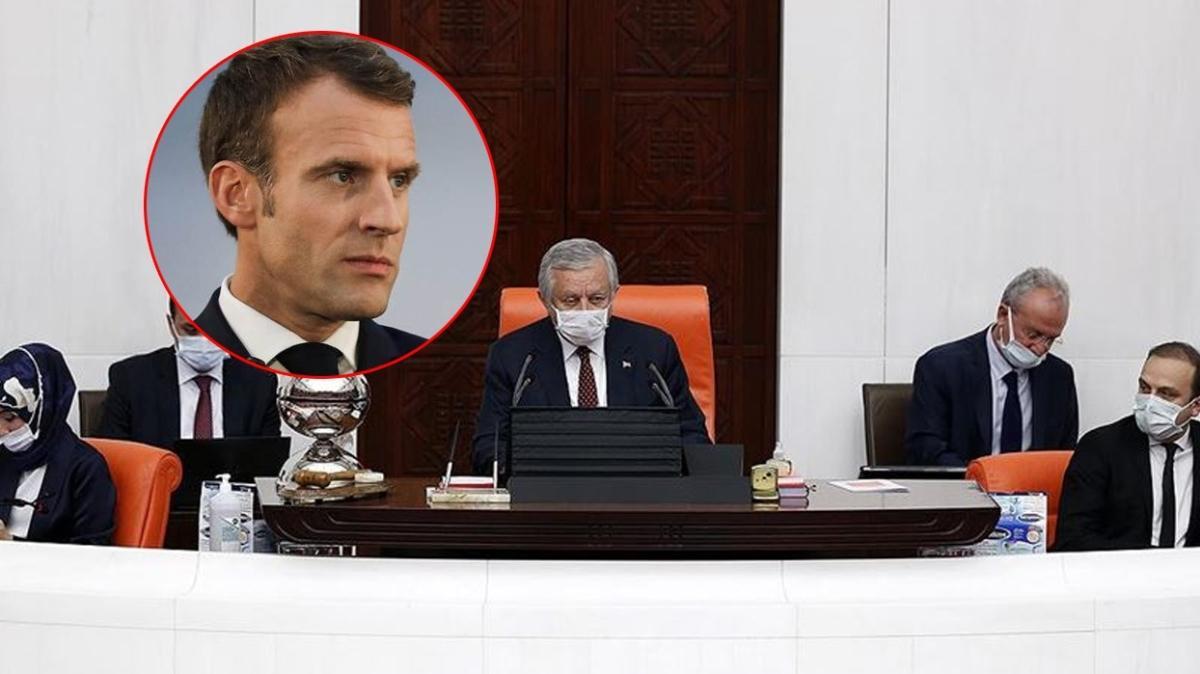 TBMM'nin Macron kararı Resmi Gazete'de