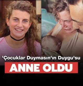 Ayşecan Tatari anne oldu
