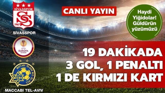 Sivasspor-Maccabi Tel-Aviv | CANLI