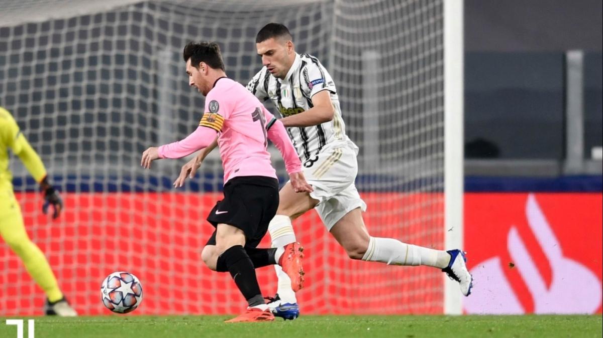 Barcelona, Juventus deplasmanında güle oynaya galip