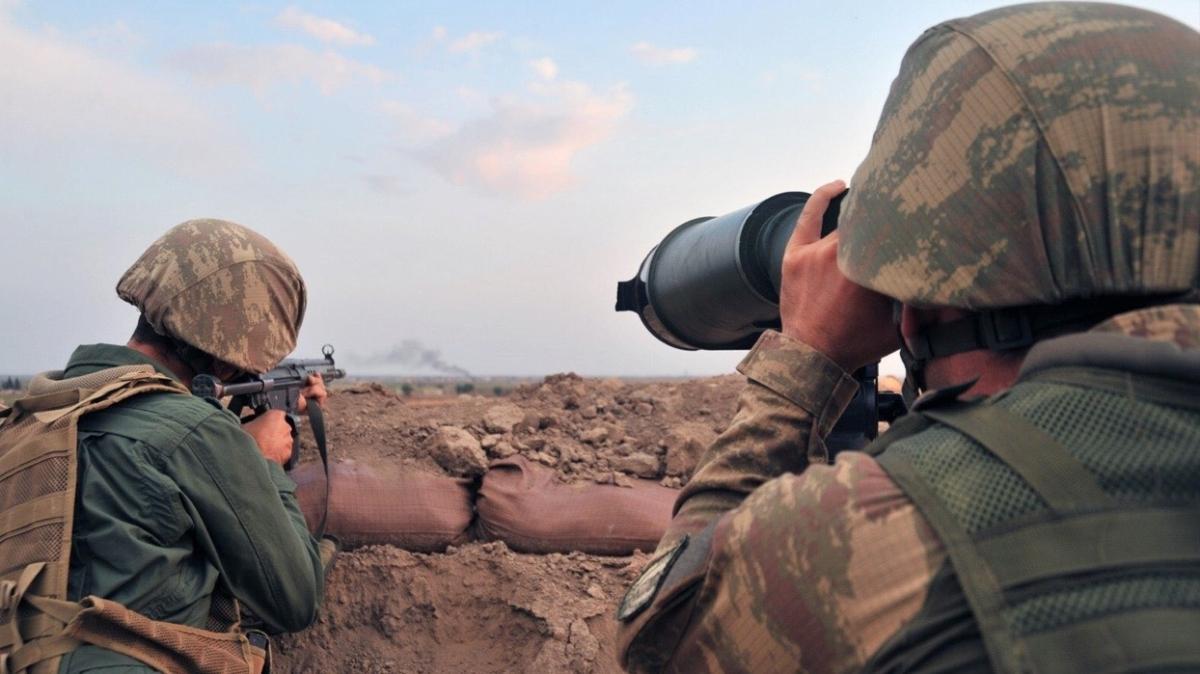 Barış Pınarı ve Fırat Kalkanı bölgesinde 5 PKK/YPG'li terörist etkisiz hale getirildi