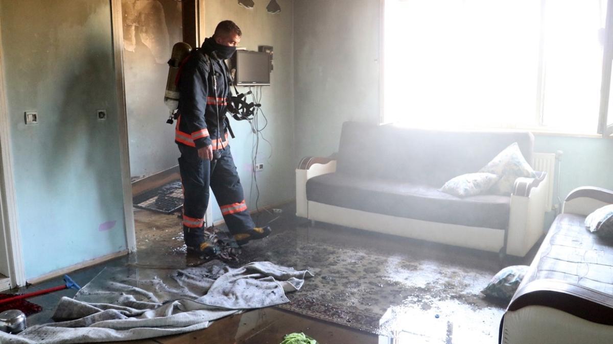 Elazığ'dan acı haber: Ev yangınında 8 aylık bebek can verdi