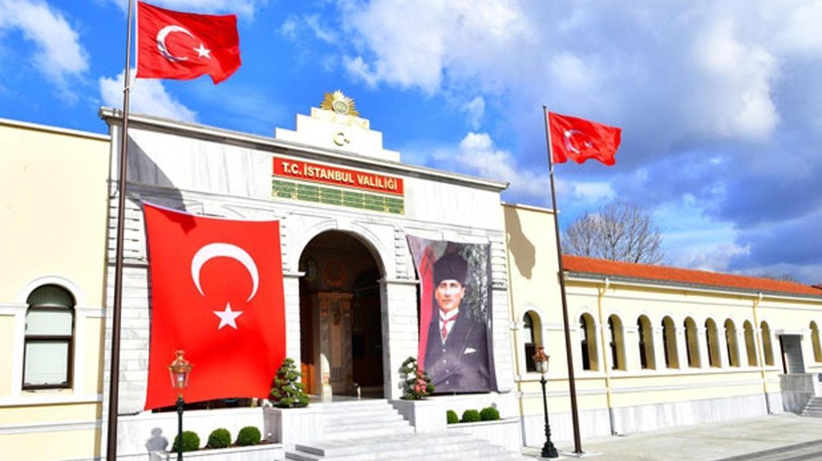 İstanbul Valiliği'nde 29 Ekim Cumhuriyet Bayramı töreni