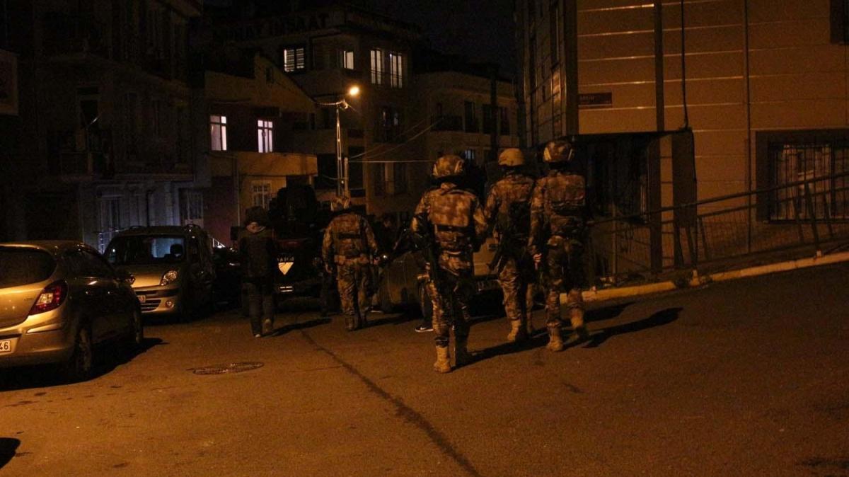 Özel Harekat Polisleri de katıldı: İstanbul'da terör örgütü DHKP-C'ye operasyon