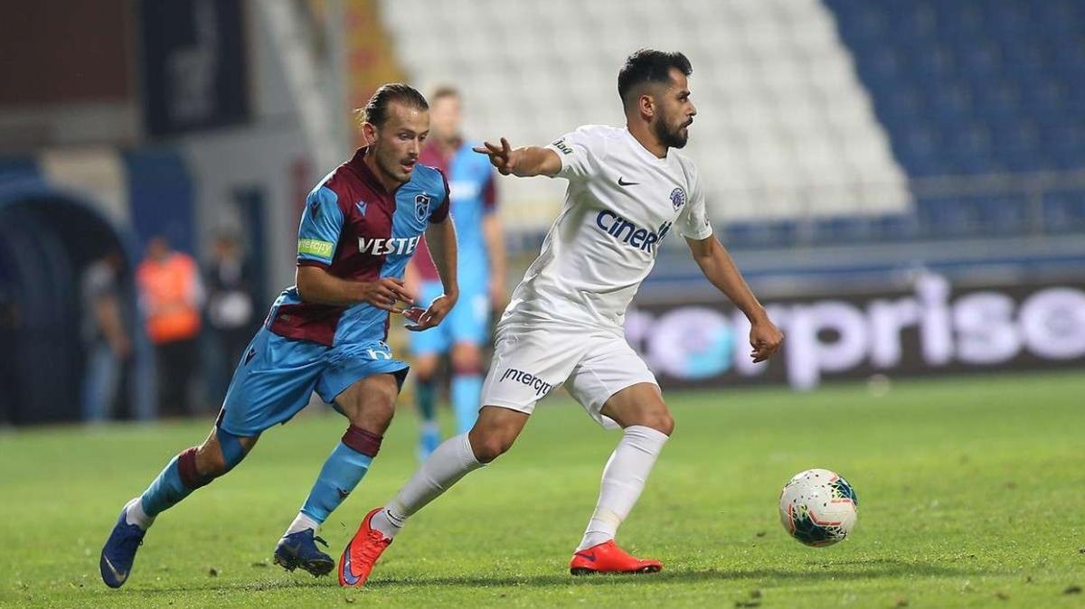 Trabzonspor'dan Kasımpaşa'ya iç sahada ezici üstünlük