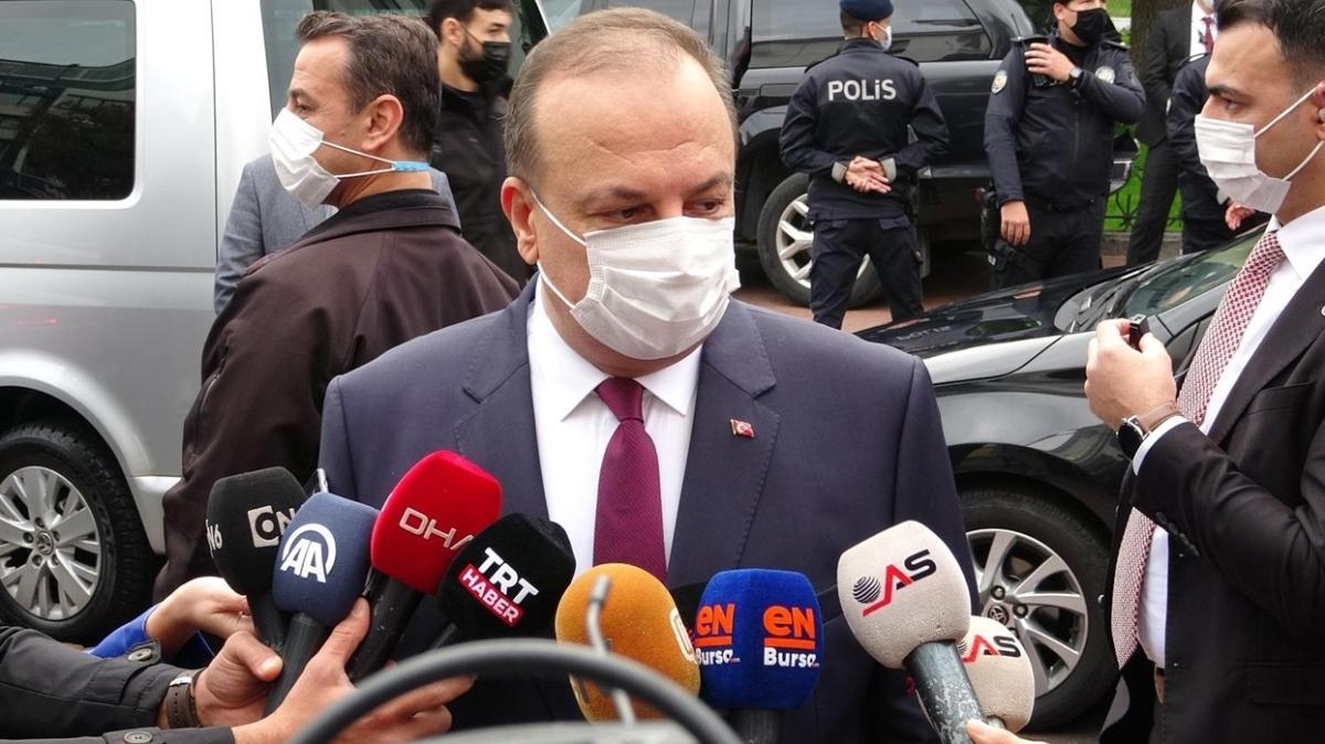 Vaka sayısının 3 kat arttığı Bursa için Vali'den açıklama geldi: B planımız var