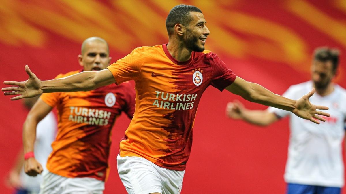 Younes Belhanda Kayserispor maçında sahada