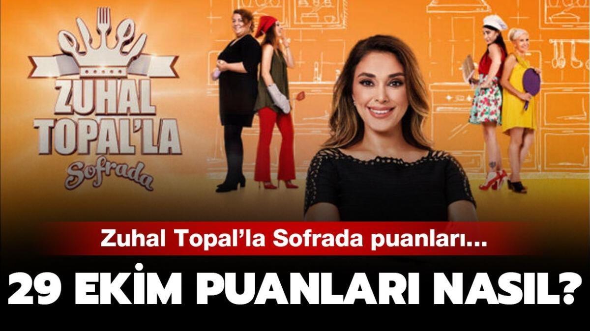 "Zuhal Topal'la Sofrada 29 Ekim puan durumu nasıl"" Zuhal Topal'la Sofrada puan tablosu yayında!"