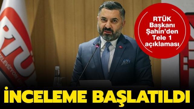 Tele 1'de skandal yayın: RTÜK harekete geçti