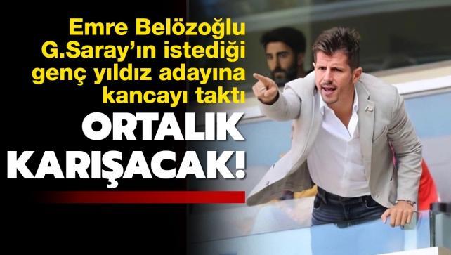 Ortalık karışacak! Belözoğlu, G.Saray'ın istediği genç yıldıza kancayı taktı