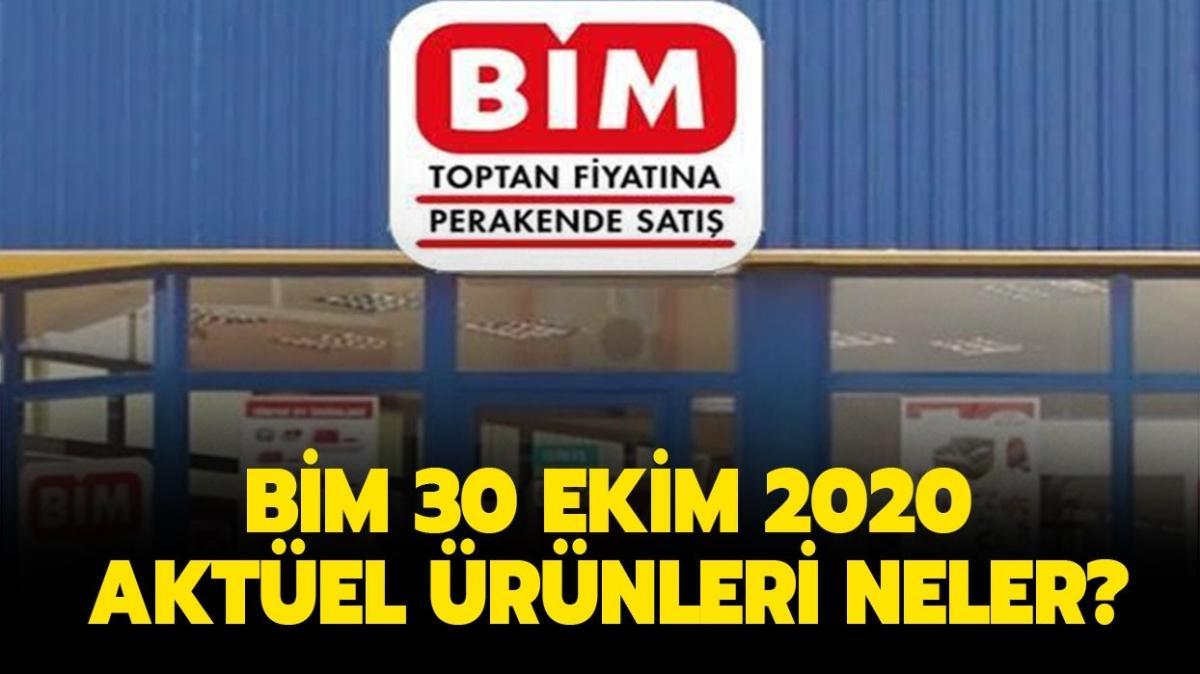 """BİM 30 Ekim 2020 aktüel ürünler kataloğunun tamamı: BİM'e bugün neler geliyor"""""""