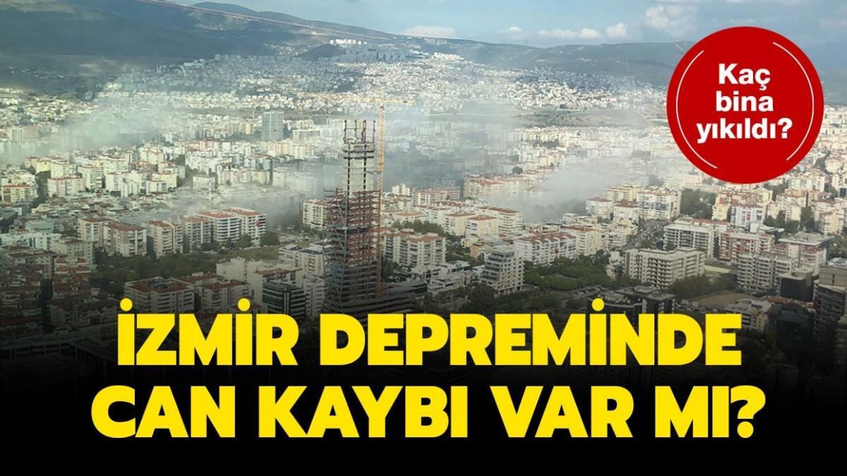"""İzmir depreminde kaç kişi öldü"""" Depremde yıkılan evlerin sayısı nedir"""""""