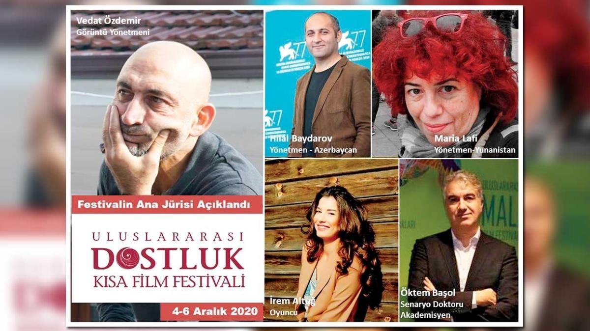Dostluk Kısa Film Festivali'nin ana jürisi açıklandı