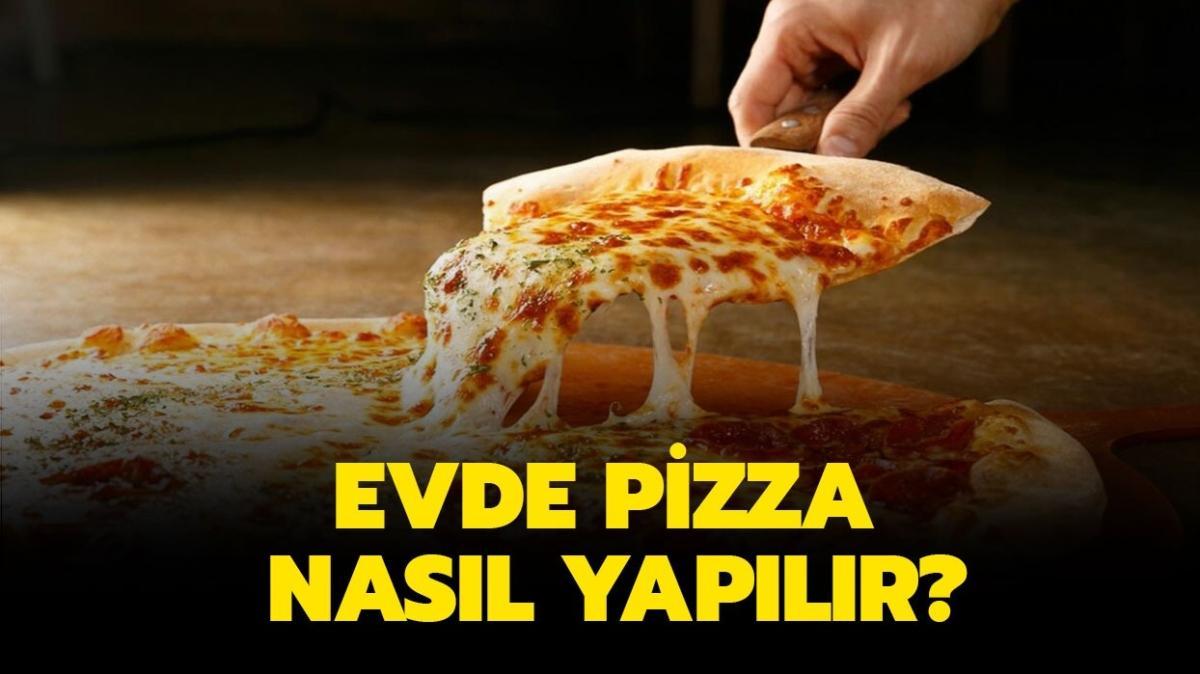 """MasterChef 4 peynirli pizza, sebzeli pizza tarifi! Evde pizza nasıl yapılır"""""""