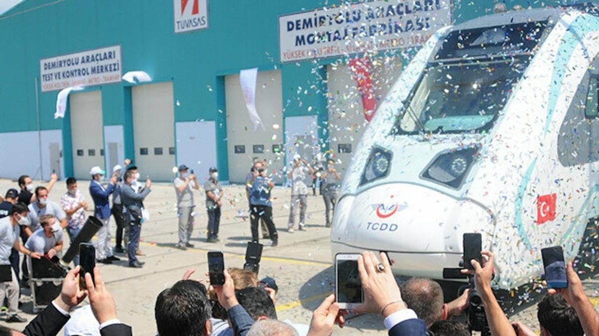 Fabrika testlerine başlandı: 'Milli trenler'in üretimi için geri sayım