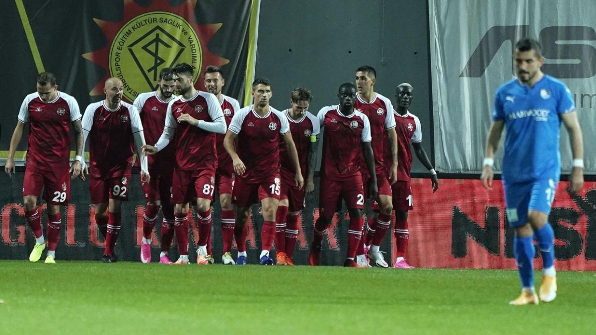 Fatih Karagümrük konuk ettiği BB Erzurumspor'u 5-1 mağlup etti