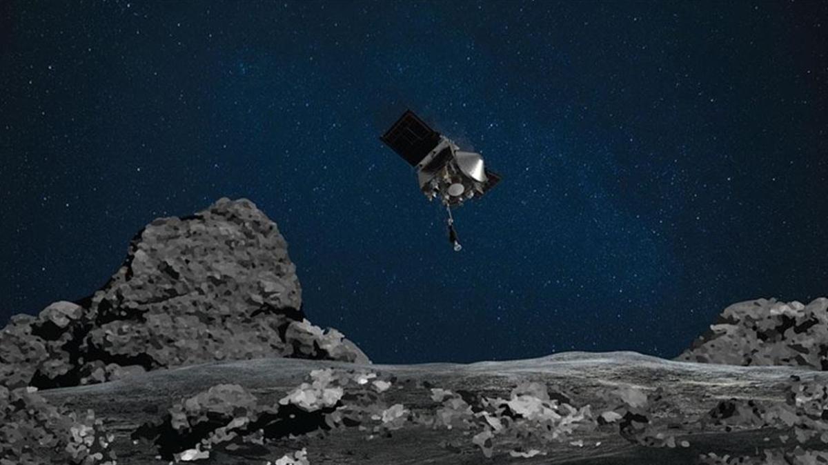 NASA'dan açıklama geldi... Uzay aracı OSIRIS-REx topladığı gök taşı örneklerini dünyaya gönderiyor