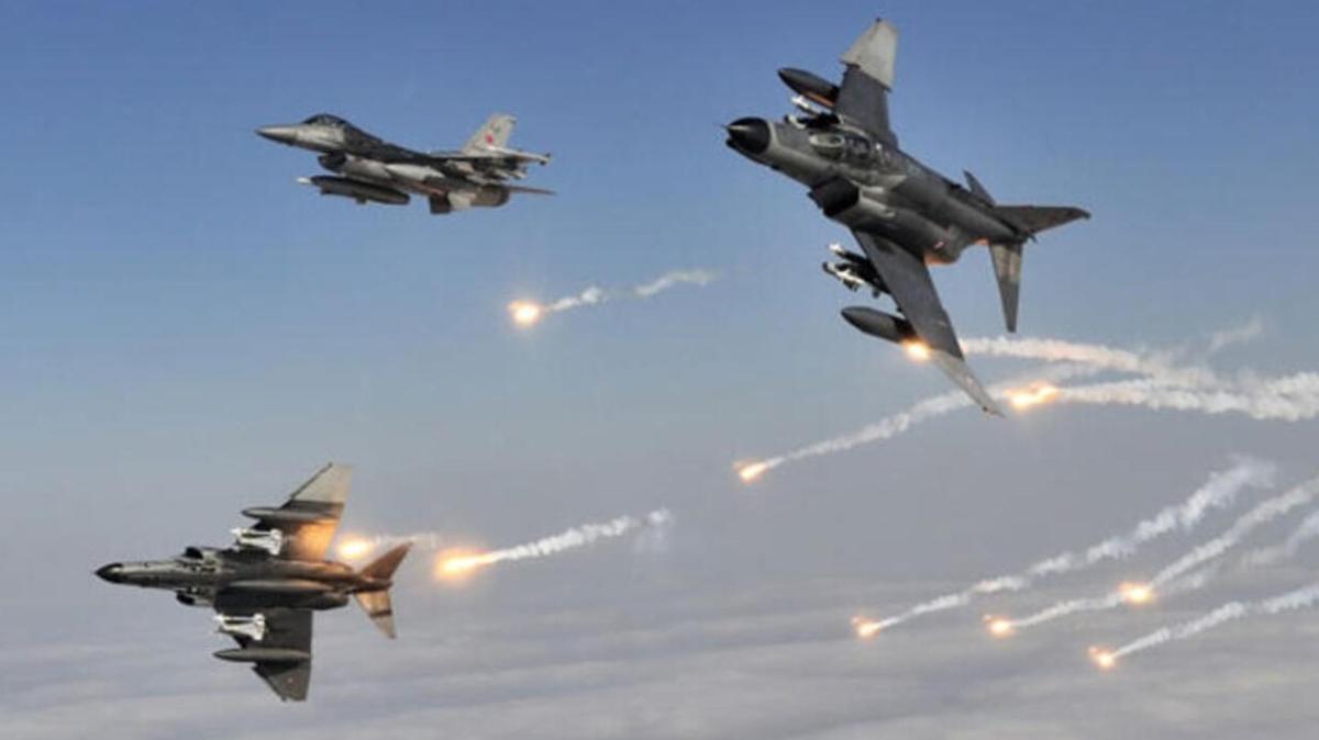 PKK'ya ağır darbe! 8 terörist etkisiz hale getirildi