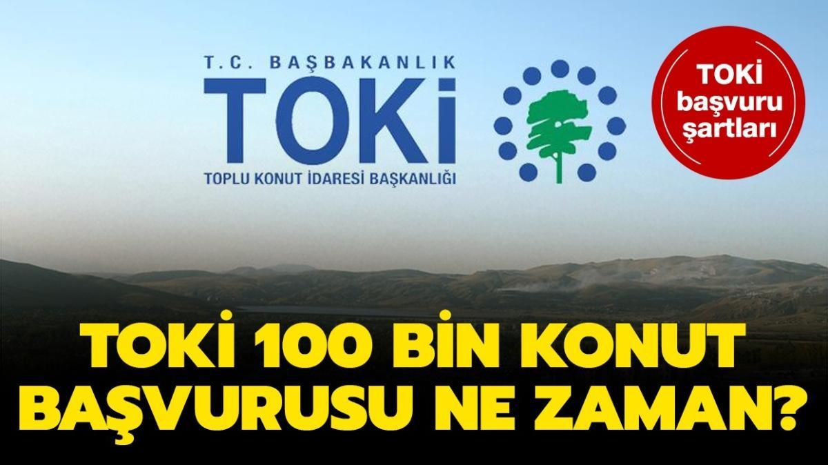 """TOKİ başvurusu şartları nelerdir"""" TOKİ 100 bin toplu konut başvurusu 2021 ne zaman"""""""
