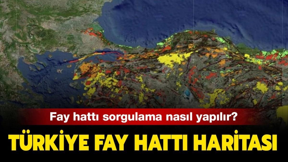 """Türkiye deprem fay haritası: MTA fay hattı sorgulama nasıl yapılır"""""""