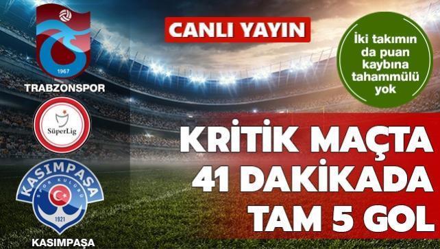 Trabzonspor-Kasımpaşa   CANLI