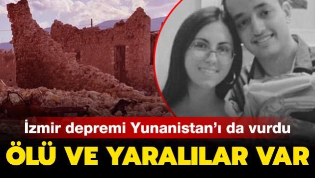 İzmir depremi komşuyu da vurdu: 2 ölü, 19 yaralı