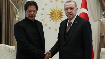 Başkan Erdoğan, Pakistan Başbakanı ile görüştü