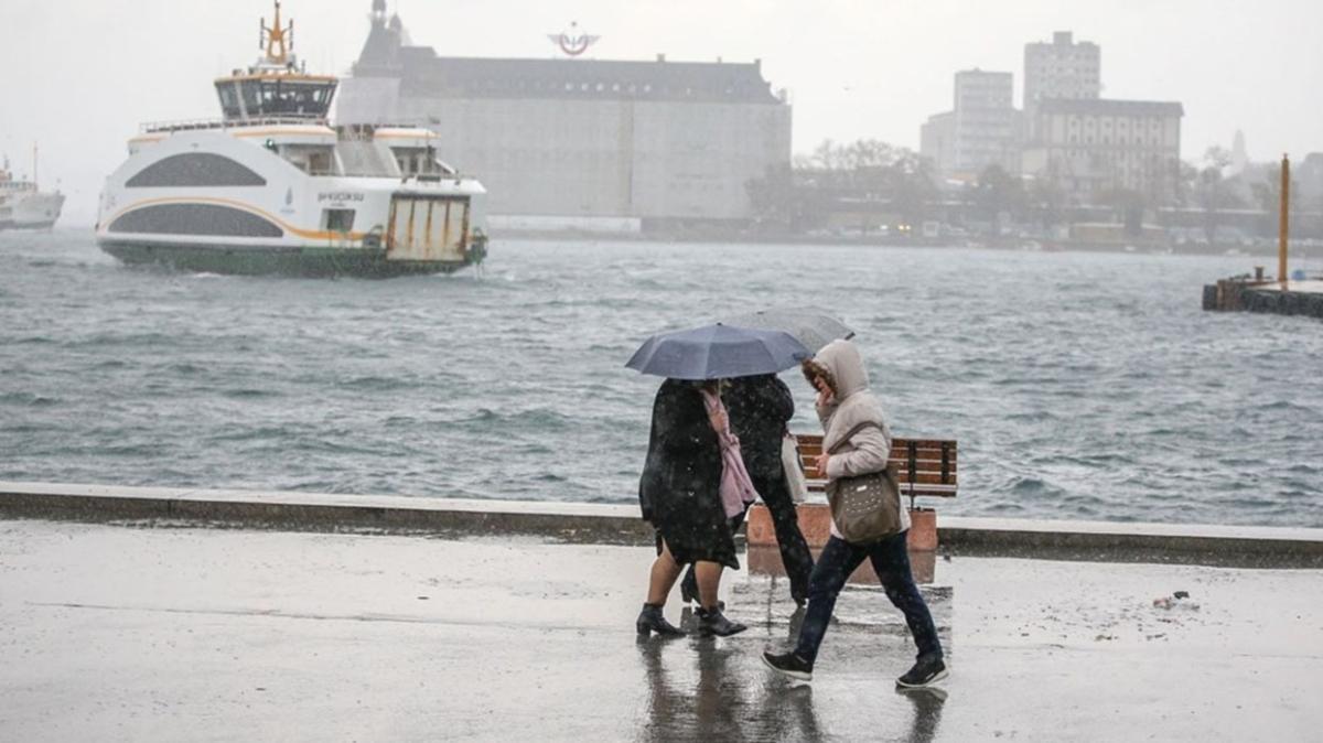31 Ekim hava durumu: Meteoroloji'den Marmara için kuvvetli sağanak uyarısı