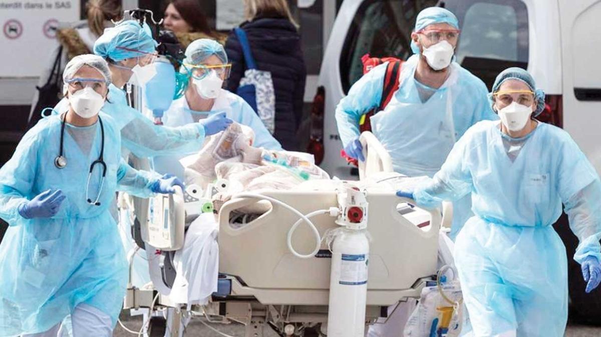 Fransa ve ABD'de bir günde 150 bin hasta... İngiltere'de sokağa çıkma yasağı